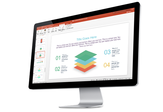Slide Bundle template for Microsoft Office