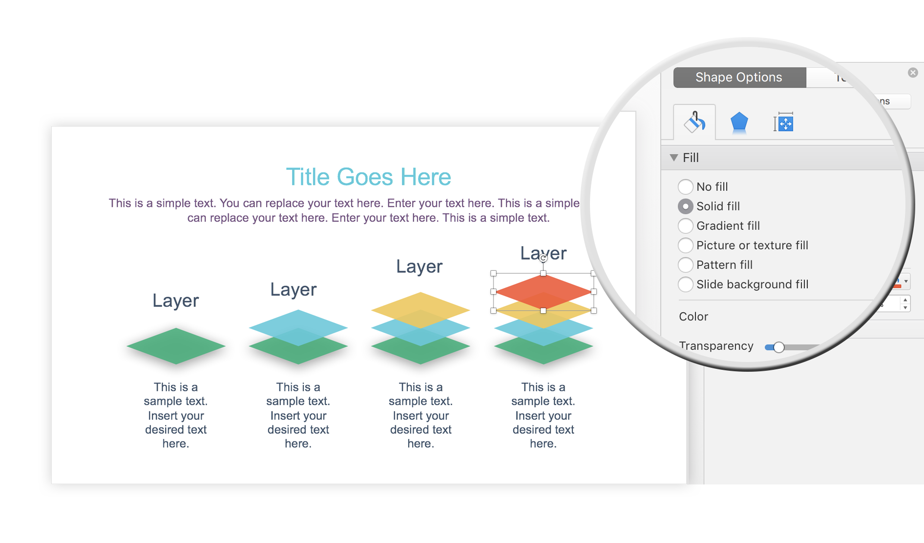 Slide Bundle layout for PowerPoint